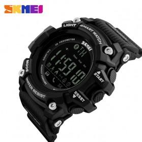 SKMEI Jam Tangan Olahraga Smartwatch Bluetooth - DG1227 BL - Black - 2