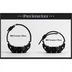 SKMEI Jam Tangan Olahraga Smartwatch Bluetooth - DG1227 BL - Black - 7