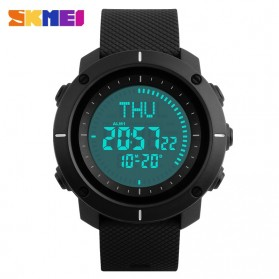SKMEI Jam Tangan Digital Pria - DG1216CM - Black - 2
