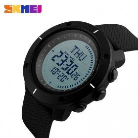 SKMEI Jam Tangan Digital Pria - DG1216CM - Black - 3
