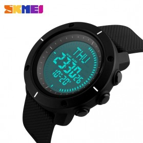 SKMEI Jam Tangan Digital Pria - DG1216CM - Black - 4