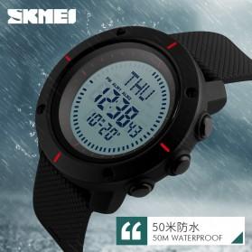 SKMEI Jam Tangan Digital Pria - DG1216CM - Black - 6