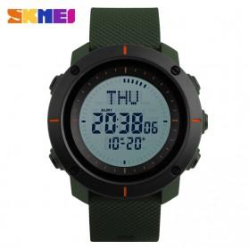SKMEI Jam Tangan Digital Pria - DG1216CM - Army Green