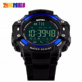 SKMEI Jam Tangan Olahraga Smartwatch Bluetooth - DG1226 BL - Black Blue - 2