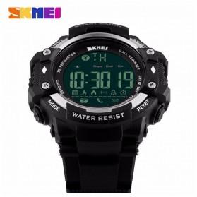 SKMEI Jam Tangan Olahraga Smartwatch Bluetooth - DG1226 BL - Black/Silver - 2