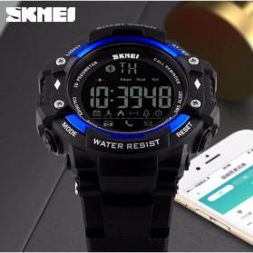 SKMEI Jam Tangan Olahraga Smartwatch Bluetooth - DG1226 BL - Black/Silver - 3