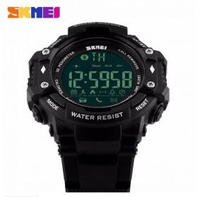 SKMEI Jam Tangan Olahraga Smartwatch Bluetooth - DG1226 BL - Black - 2