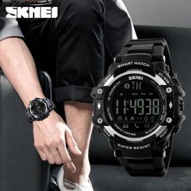 SKMEI Jam Tangan Olahraga Smartwatch Bluetooth - DG1226 BL - Black - 4