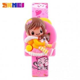 SKMEI Jam Tangan Anak - DG1240 - Pink - 2