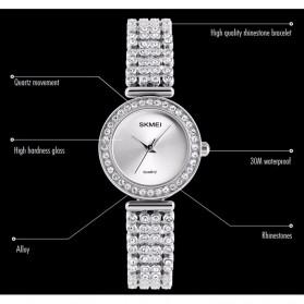 SKMEI Jam Tangan Elegan Wanita - 1224C - Silver - 5