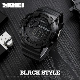 SKMEI Jam Tangan Digital Pria - DG1243 - Black - 4