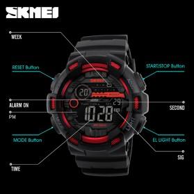 SKMEI Jam Tangan Digital Pria - DG1243 - Black - 5