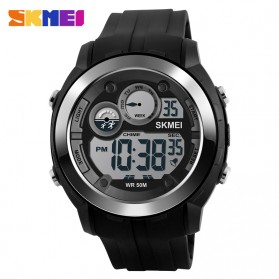 SKMEI Jam Tangan Digital Sporty Pria - DG1234 - Black
