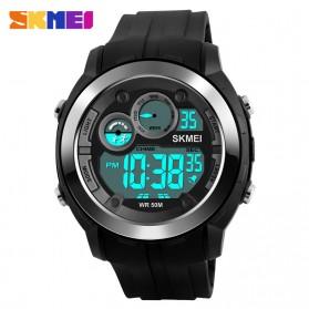 SKMEI Jam Tangan Digital Sporty Pria - DG1234 - Black - 3