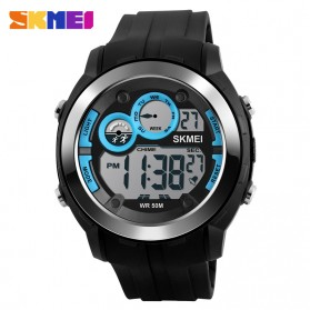 SKMEI Jam Tangan Digital Sporty Pria - DG1234 - Blue