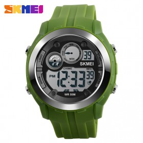 SKMEI Jam Tangan Digital Sporty Pria - DG1234 - Army Green