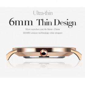 SKMEI Jam Tangan Pria Milanese Premium Stainless Steel - 1182 - Rose Gold - 7
