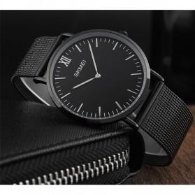 SKMEI Jam Tangan Pria Milanese Premium Stainless Steel - 1182 - Black - 2