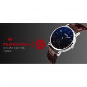 SKMEI Jam Tangan Analog Pria - 9120CL - Black - 4
