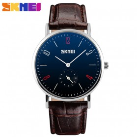 SKMEI Jam Tangan Analog Pria - 9120CL - Brown/Black