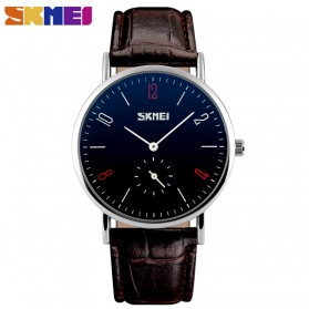 SKMEI Jam Tangan Analog Pria - 9120CL - Dark Brown
