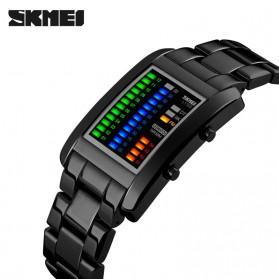SKMEI Jam Tangan LED Unik - 1103A - Black - 2