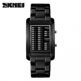 SKMEI Jam Tangan LED Unik - 1103A - Black - 3