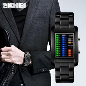 SKMEI Jam Tangan LED Unik - 1103A - Black - 4