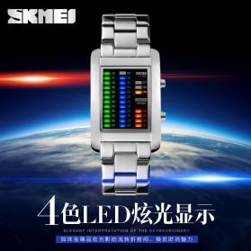 SKMEI Jam Tangan LED Unik - 1103A - Black - 5