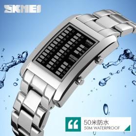 SKMEI Jam Tangan LED Unik - 1103A - Black - 6