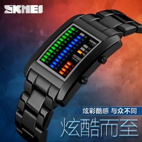 SKMEI Jam Tangan LED Unik - 1103A - Black - 7