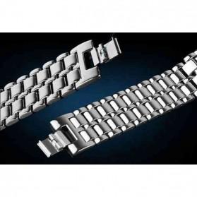 SKMEI Jam Tangan LED Pria - 8061G - Silver Blue - 6
