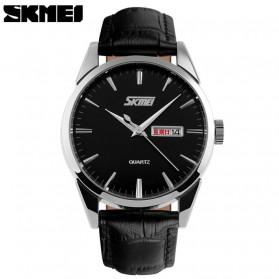 SKMEI Jam Tangan Analog Pria - 9073CL - Black/Silver