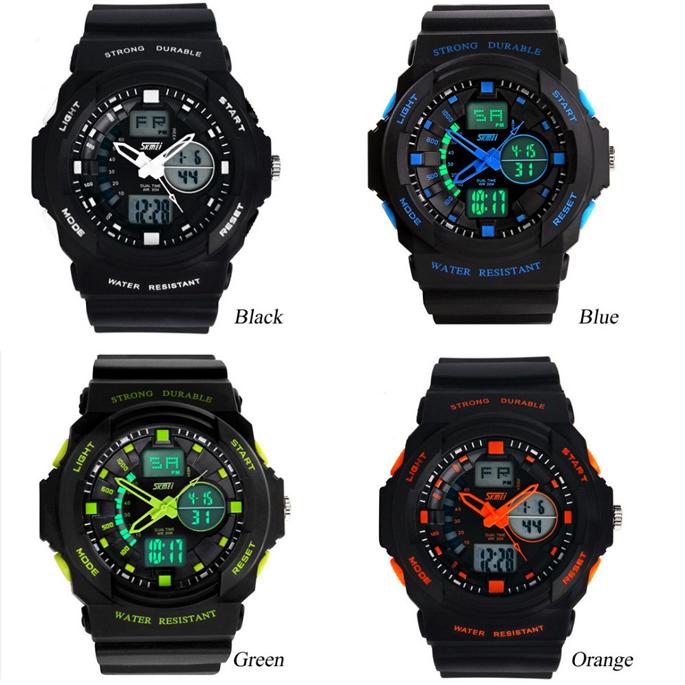 skmei jam tangan anak ad1061 orange 6