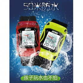 SKMEI Jam Tangan Anak - 0961B - Light Green - 7