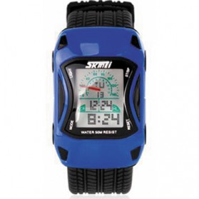 SKMEI Jam Tangan Anak - 0961B - Blue - 1