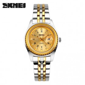 SKMEI Jam Tangan Analog Wanita - 9098CS - Golden