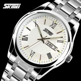 SKMEI Jam Tangan Analog Pria - 9056C - Silver - 3