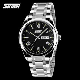 SKMEI Jam Tangan Analog Pria - 9056C - Black - 2