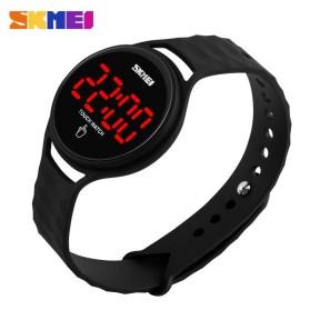 SKMEI Jam Tangan LED Touch Wanita - 1230A - Black - 2