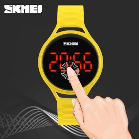 SKMEI Jam Tangan LED Touch Wanita - 1230A - Black - 3