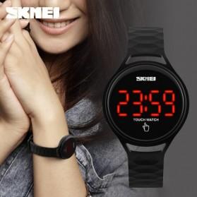 SKMEI Jam Tangan LED Touch Wanita - 1230A - Black - 4
