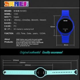 SKMEI Jam Tangan LED Touch Wanita - 1230A - Black - 5