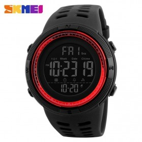 SKMEI Jam Tangan Digital Pria - DG1251 - Black/Red