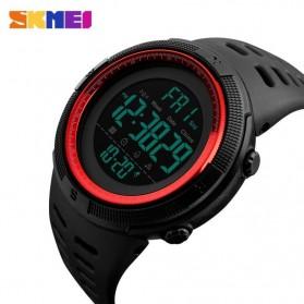 SKMEI Jam Tangan Digital Pria - DG1251 - Black/Red - 2
