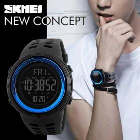 SKMEI Jam Tangan Digital Pria - DG1251 - Black/Blue - 5