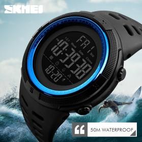 SKMEI Jam Tangan Digital Pria - DG1251 - Black/Blue - 6