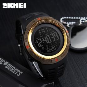 SKMEI Jam Tangan Digital Pria - DG1251 - Red/Golden - 4