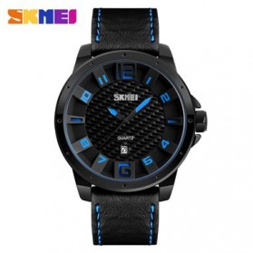 SKMEI Jam Tangan Analog Pria - 9150CL - Black/Blue