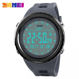 SKMEI Jam Tangan Digital Pria - DG1246 - Black - 4